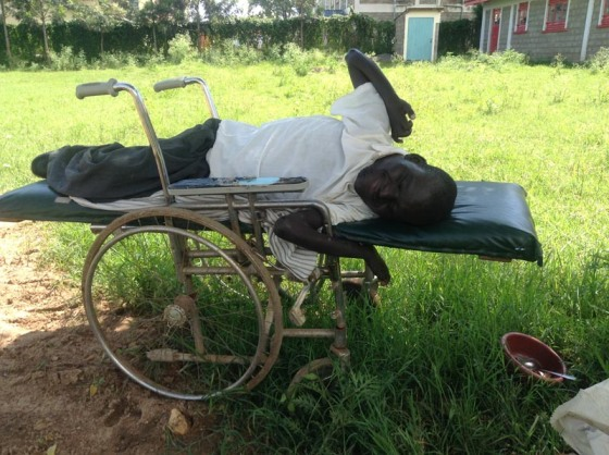 Severely disabled student who would benefit  if practical vocational training were offered at Joyland