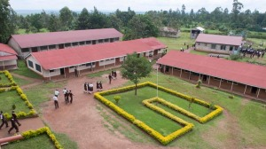 Delbert's school, Saint Martha's Mwitoti Secondary School in Kakamega county